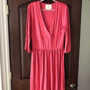 NWOT Pink Jersey Dress